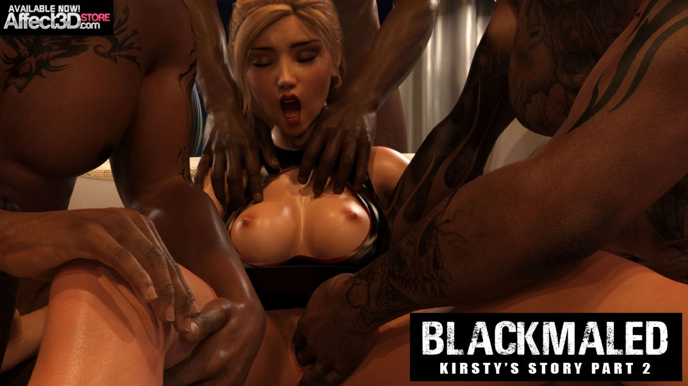Blackmaled: Kirsty's Story Pt. 2 by Sexy3DComics!