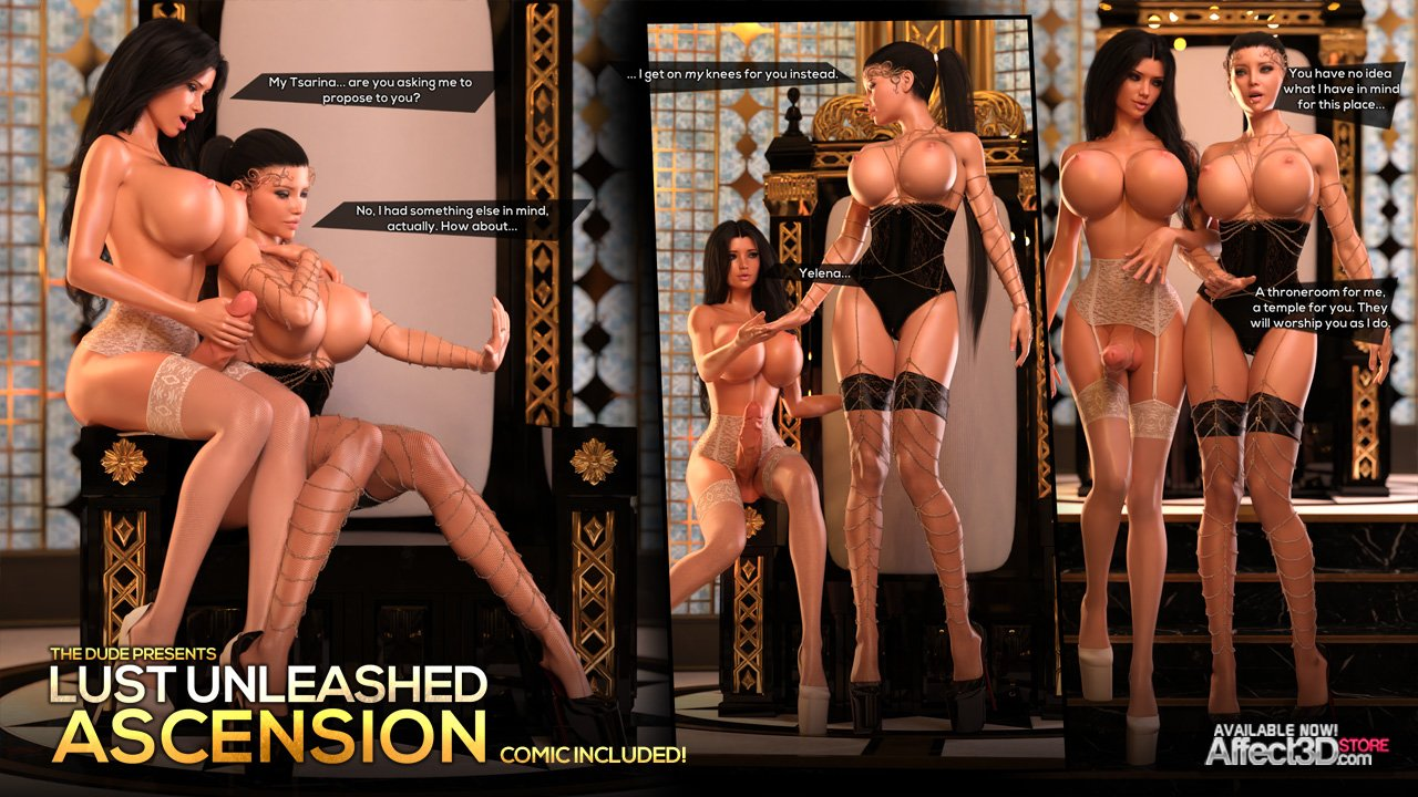 New from The Dude! Lust Unleashed: Ascension Part 1