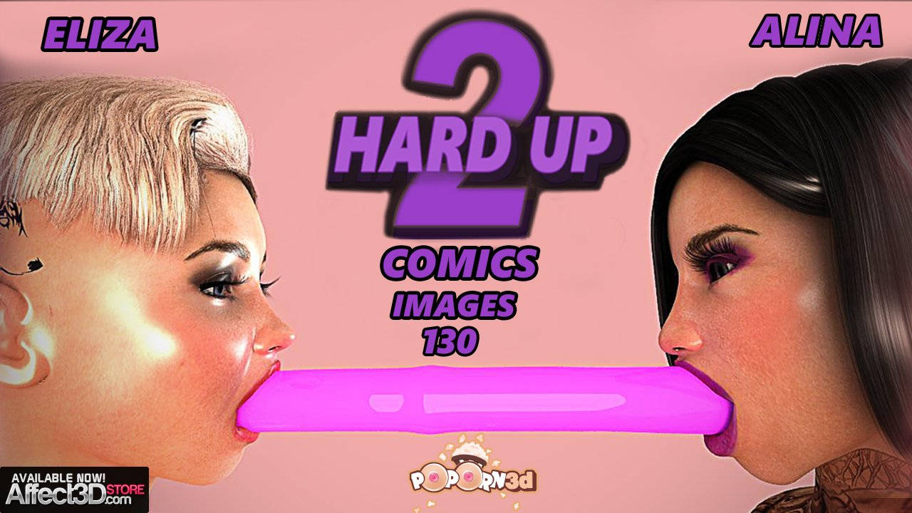 2 Hard Up – Comic! Dickgirl Perversion by Poporn3D
