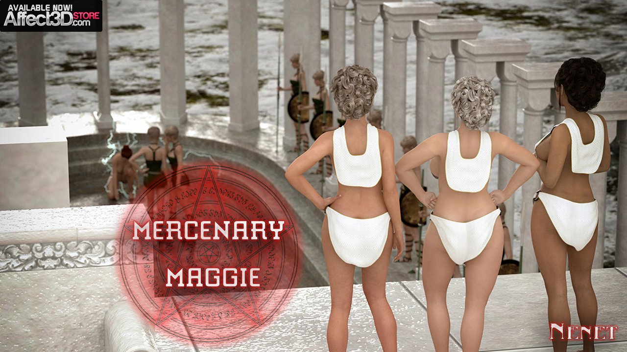 Fuck Challenges and Orgy Trials! Mercenary Maggie by Nenet