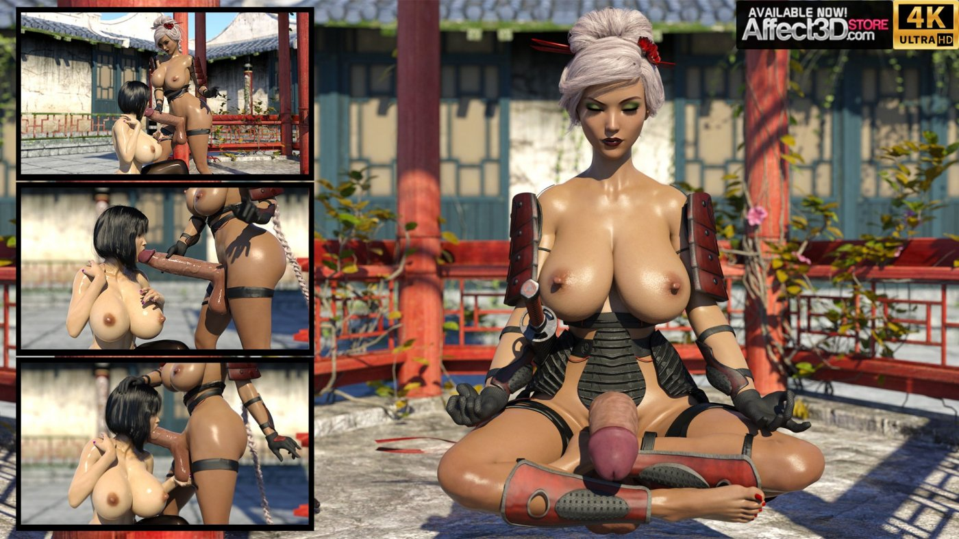 Now Available! cjflo's New Dickgirl Release, Kung Futa: Enter the Dickgirl