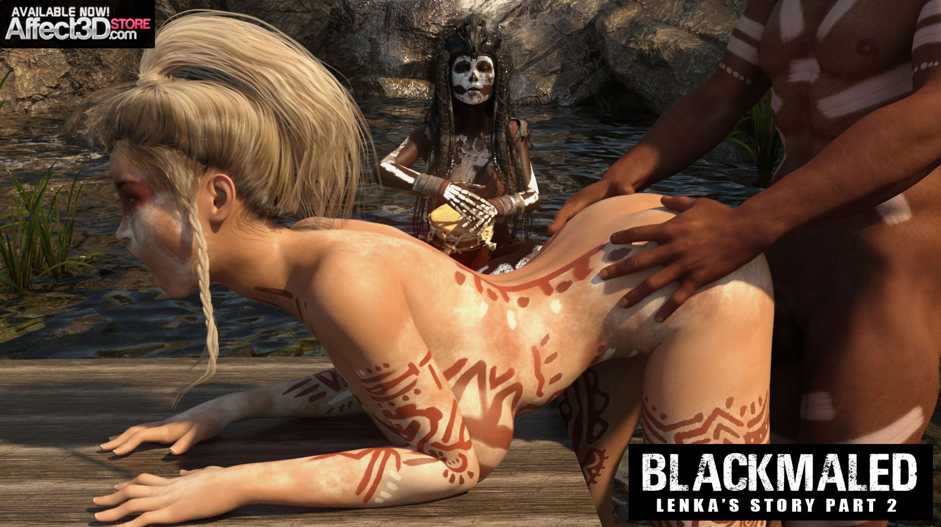 Sexy3DComics Is Back With Blackmaled: Lenka's Story Episode 1 & 2! Get Episode 1 for FREE!