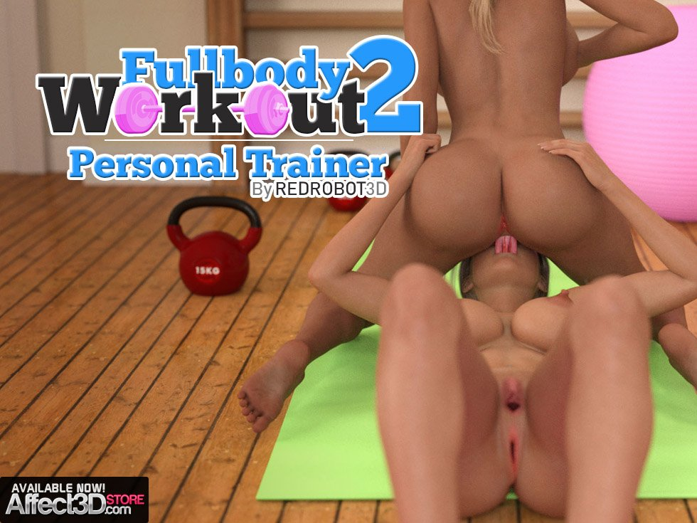 Fun at the Gym in Fully Body Workout 2: Personal Trainer!