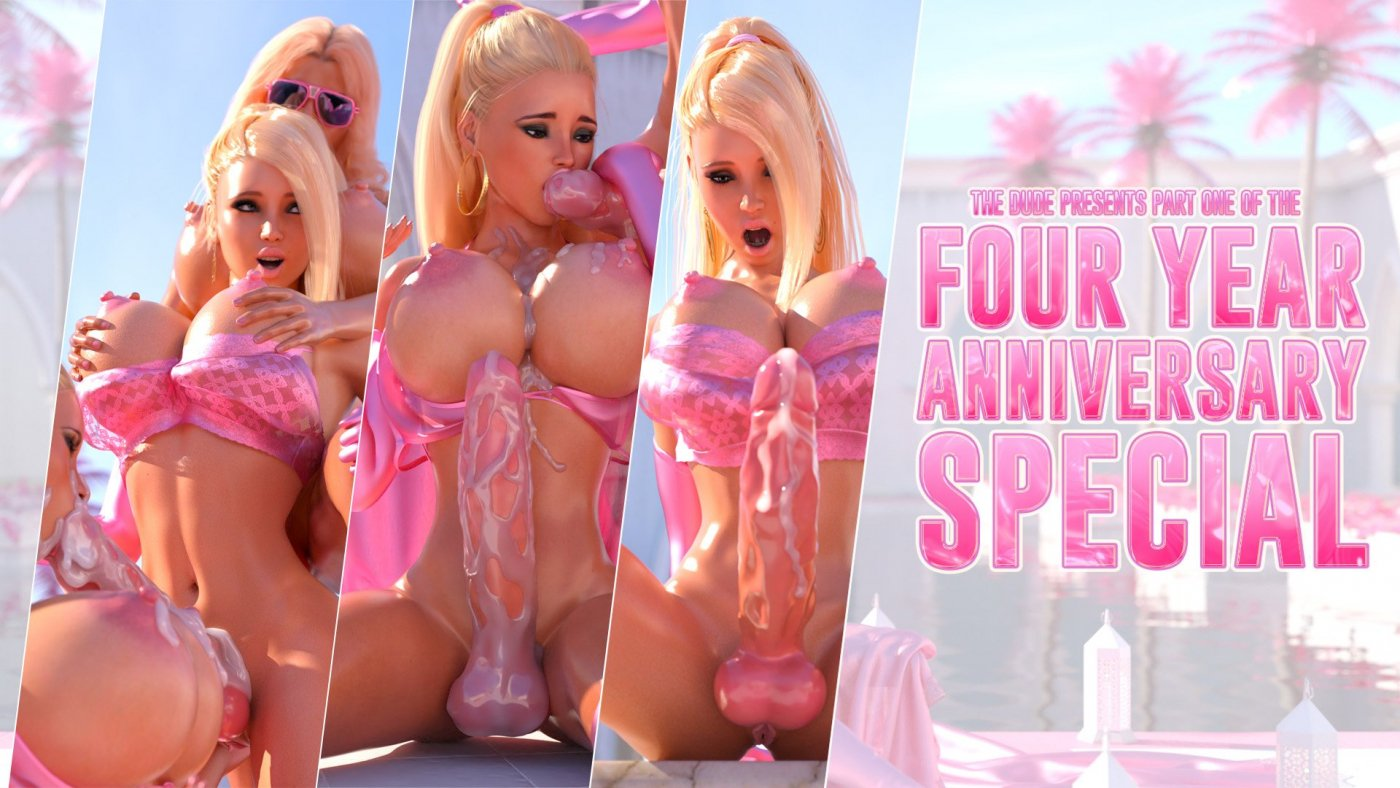 So. Much. Cum. The Dude's Four Year Anniversary Special – Part 1 is Out Now!
