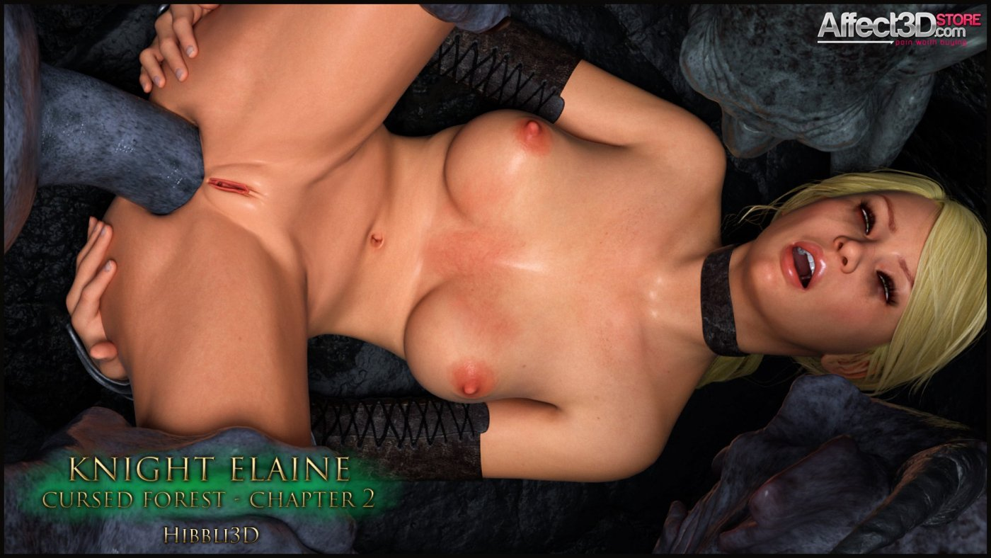 Hibbli3D's Latest Monster Fuck: Knight Elayne – Cursed Forest Chapter 2!