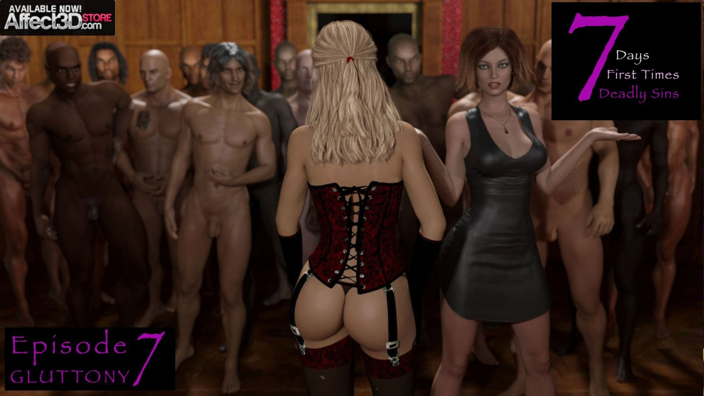 Sexy3DComics' 7 Deadly Sins Series Returns and Concludes With A Bang!