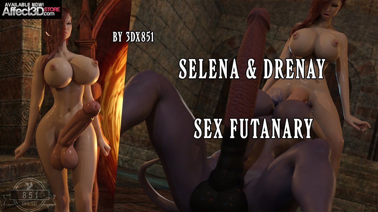 New from 3DX851: Selena and Drenay